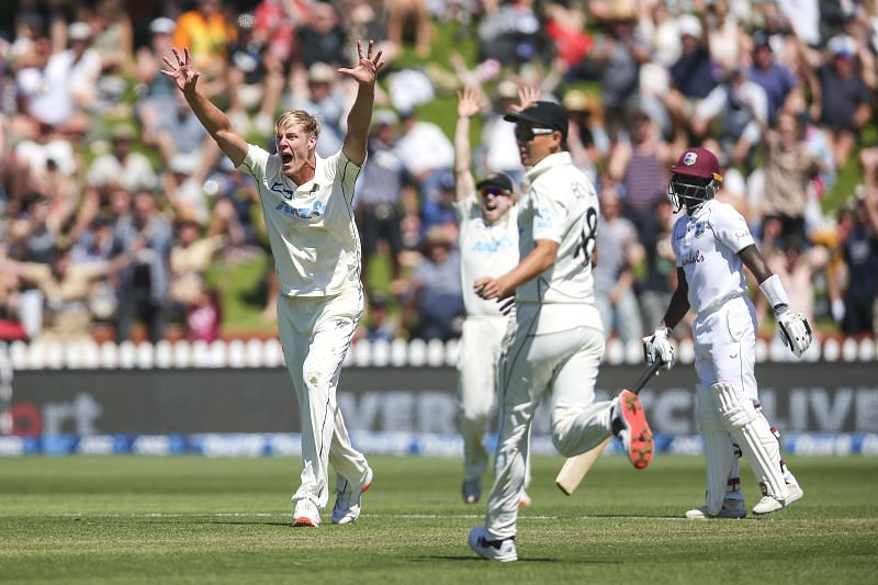 Kyle Jamieson has scalped five wickets in the first innings