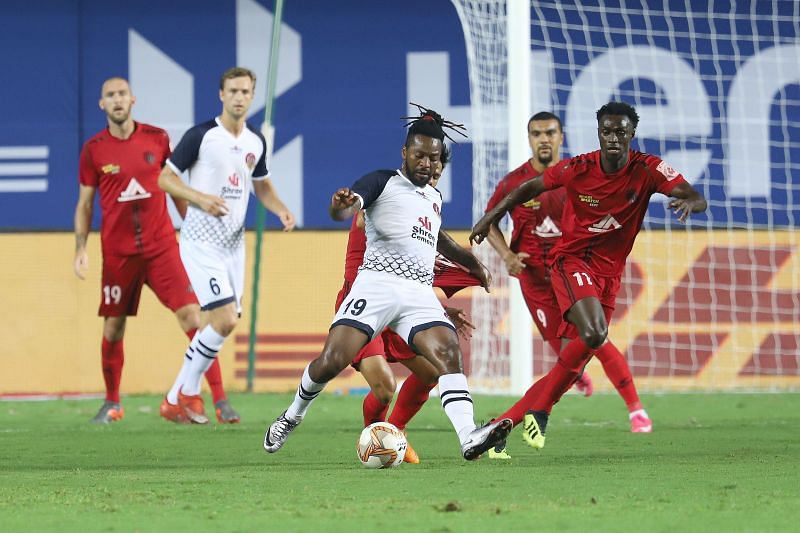 Jacques Maghoma scored the first ISL goals for SC East Bengal (Courtesy: ISL)
