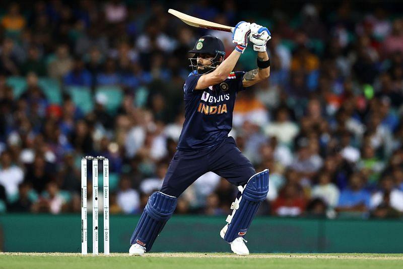 Virat Kohli is the fastest to the 12000-run mark in ODI cricket