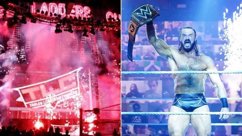 Who was Drew McIntyre originally supposed to face at WWE TLC?