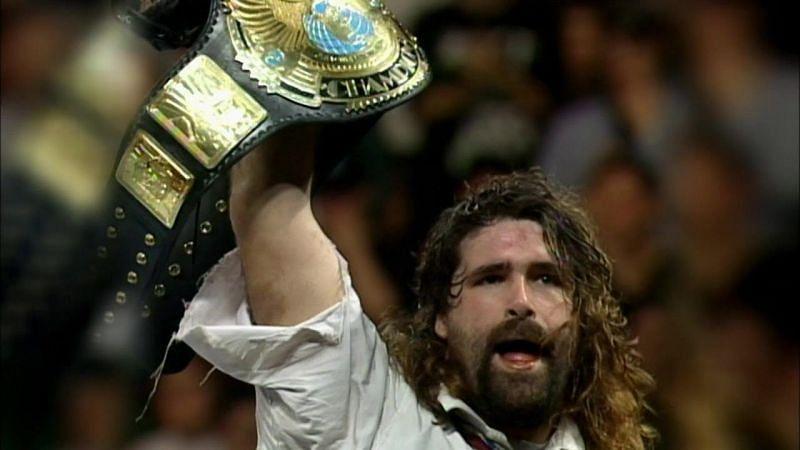 Mankind on WWE RAW