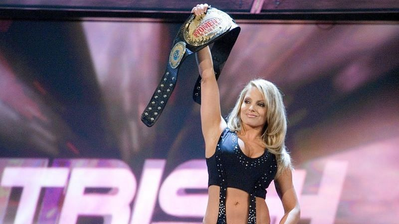 Trish Stratus has the most WWE Women
