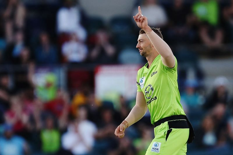 Daniel Sams also took two wickets for the Thunder