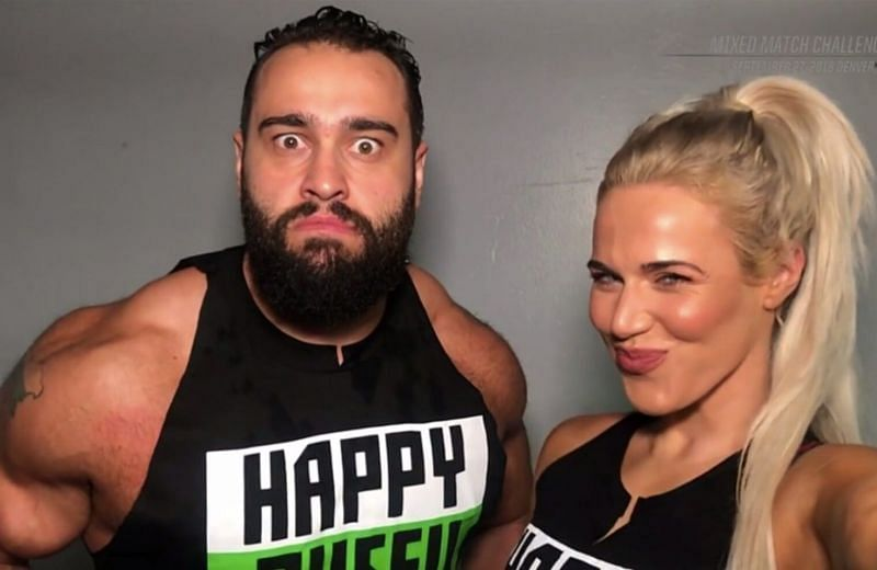 Rusev, now known as Miro, and Lana