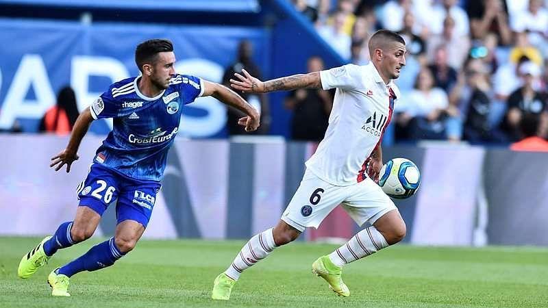 PSG face Strasbourg in Ligue 1 action