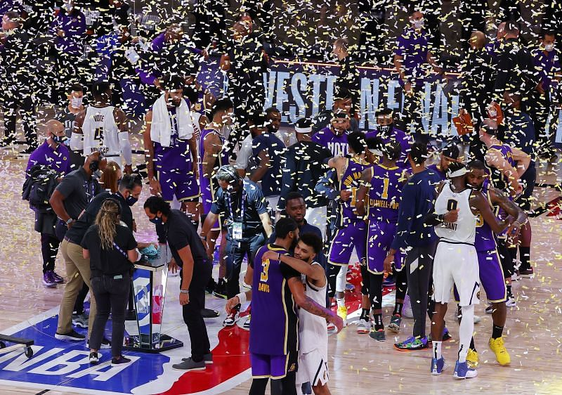 Lakers won the Western Conference Finals last year