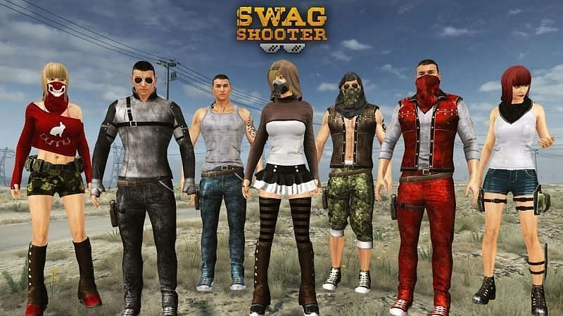 Swag Shooter – Online & Offline Battle Royale Game (Image via KruGames, YouTube)