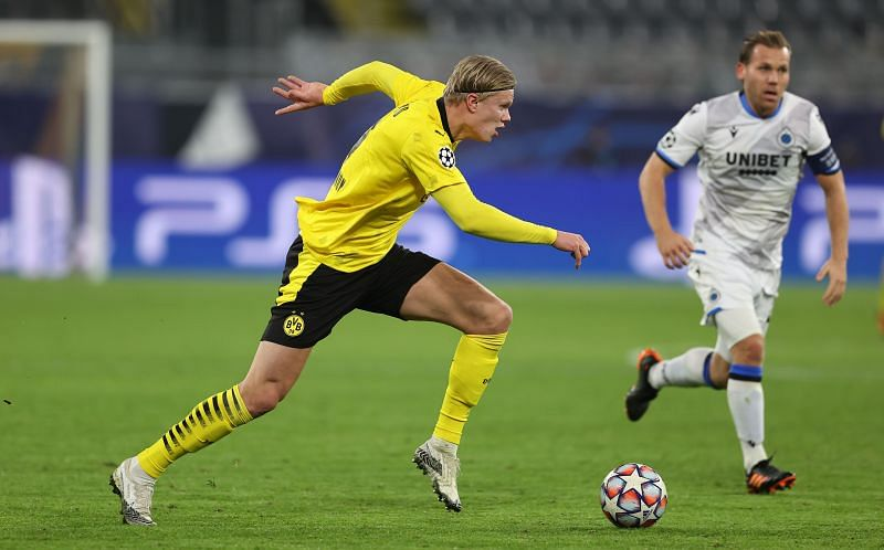 Erling Haaland has been linked with a move to Real Madrid for a while