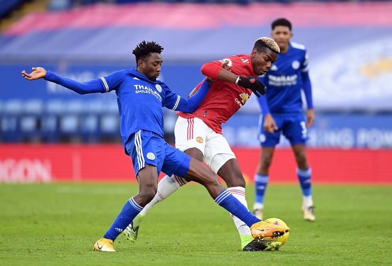 Manchester United were held to a 2-2 draw by Leicester City on Boxing Day