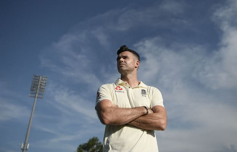 James Anderson touched the 600 Test wickets milestone in 2020