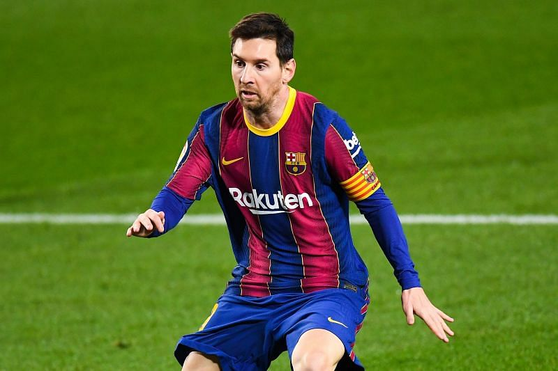 Lionel Messi scored a goal yesterday