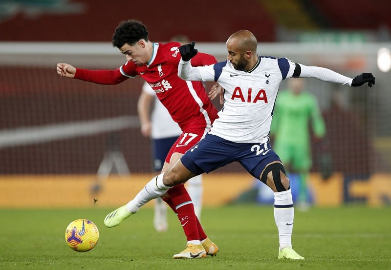 It was another excellent display in the Liverpool midfield from the young Englishman Curtis Jones.