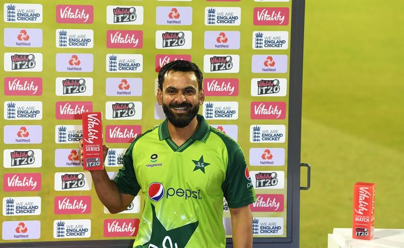 Mohammad Hafeez was the most successful T20I batsman of the year