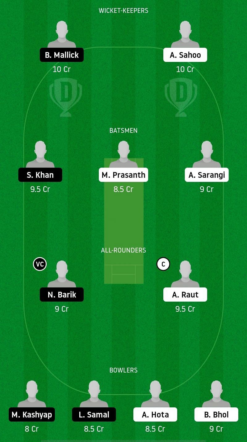 ODC v ODJ Dream11 Suggestions
