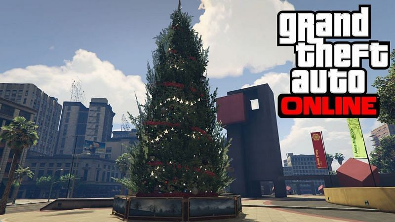 Gta 5 Online Christmas 2021 Where Is The Christmas Tree In Gta Online