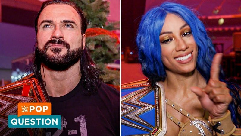 Drew McIntyre, Sasha Banks, and others shared their New Year