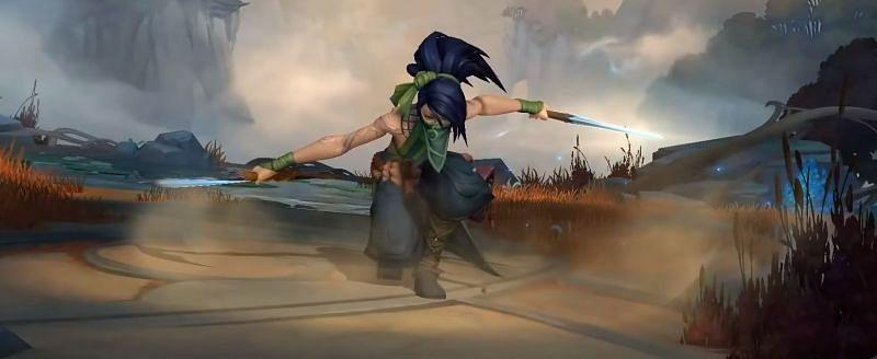 Akali in Wild Rift (Image via Riot Games)