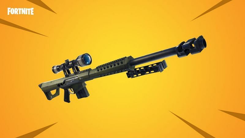 Heavy Sniper Rifle - Image via - Epic Games