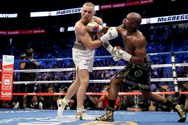 Floyd Mayweather Jr. won his 50th career fight against Conor McGregor.