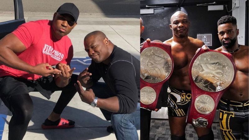 Shelton Benjamin is now one half of the new RAW Tag Team Champions, The Hurt Business