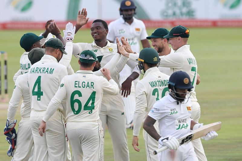 South Africa sealed a comfortable win over Sri Lanka in the First Test