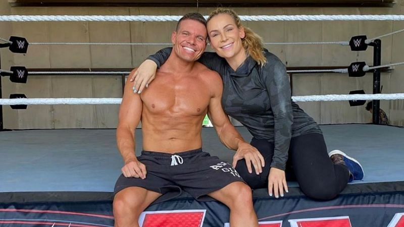 Tyson Kidd and Natalya.