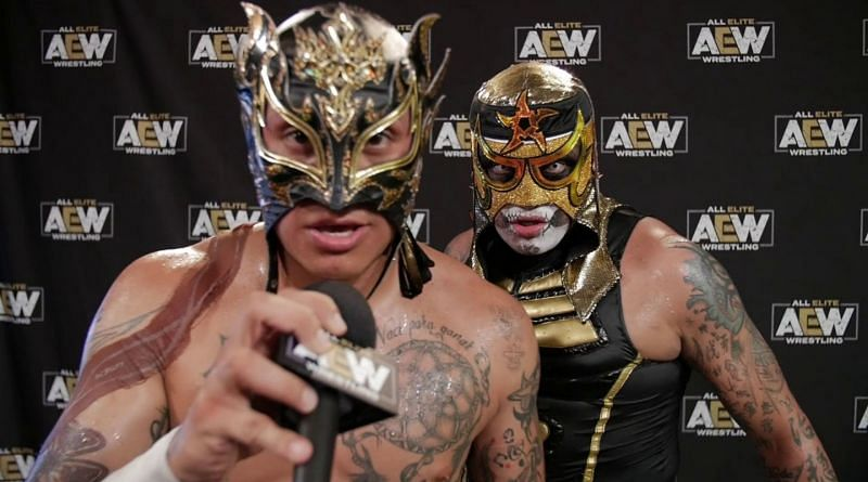 The Lucha Bros are one of AEW