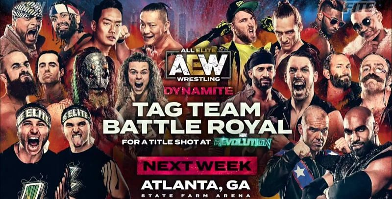 Many teams vie for supremacy in AEW.