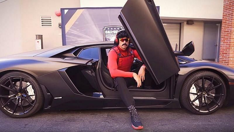 Dr Disrespect Lamborghini Car