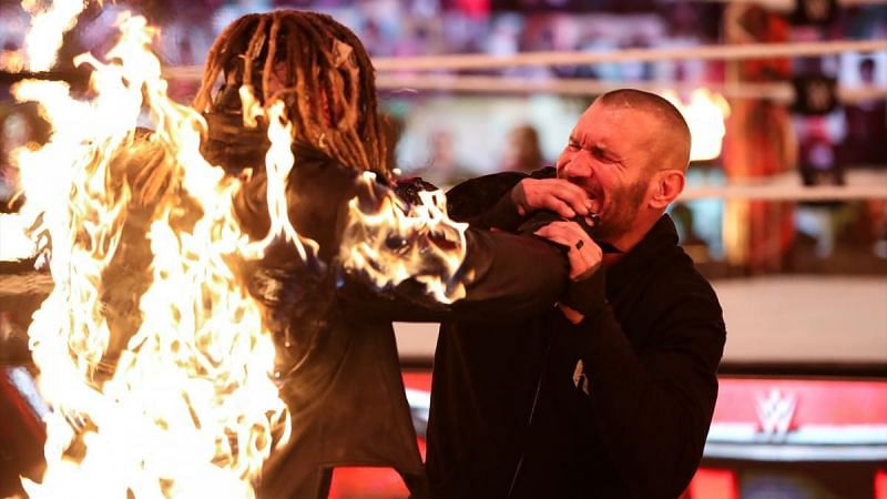Can any of us say we expected a man of fire to attack Randy Orton in 2020?