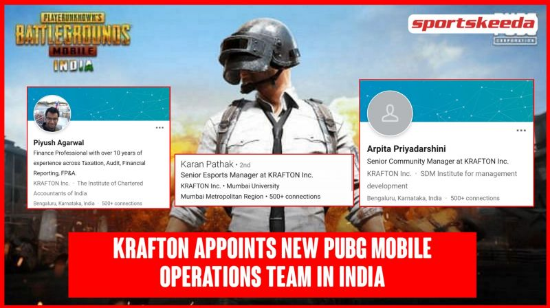Krafton Inc. has appointed a PUBG Mobile operations team in India