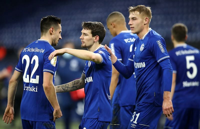 Schalke finally won a game this season, when they beat Ulm in the DFB Pokal