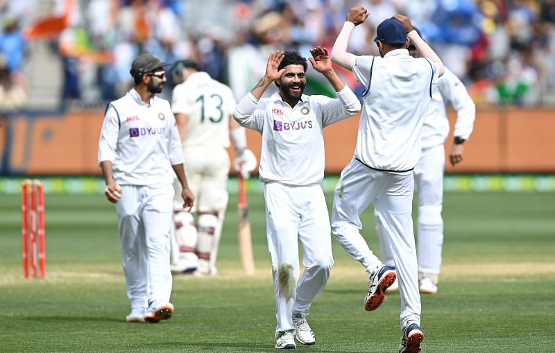 Ravindra Jadeja scored a half-century and picked up three wickets for India in the second Test