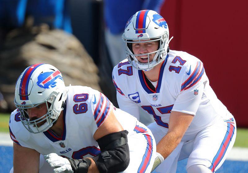 Buffalo Bills QB Josh Allen (#17)