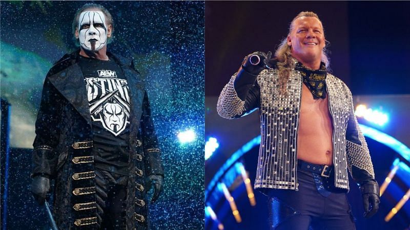 Chris Jericho and Sting find themselves as one of the oldest members on AEW