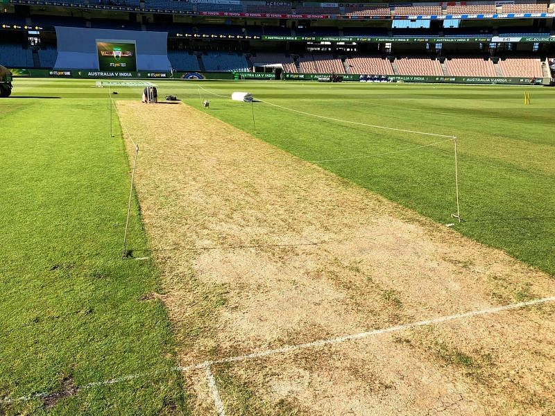 MCG pitch has traditionally been good for batting