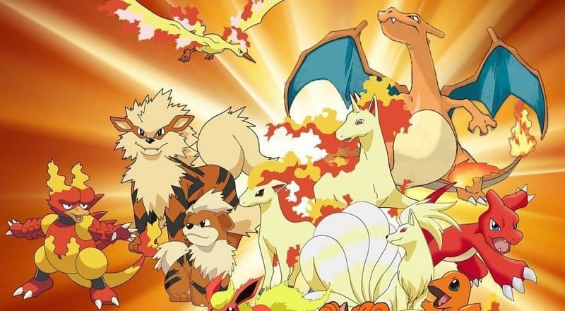 Top 5 Fire Pokemon of all time