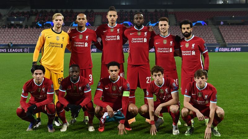Liverpool drew 1-1 with Midtjylland (Image Courtesy: Liverpool FC Twitter)