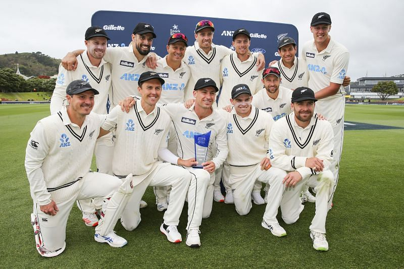 New Zealand have secured 120 points in the World Test Championship from their series win against West Indies.