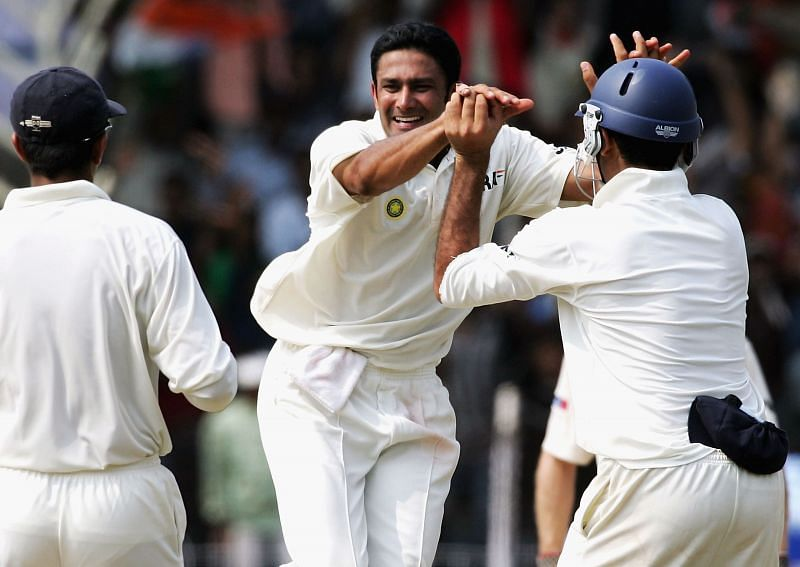 Anil Kumble is the highest wicket-taker for India.