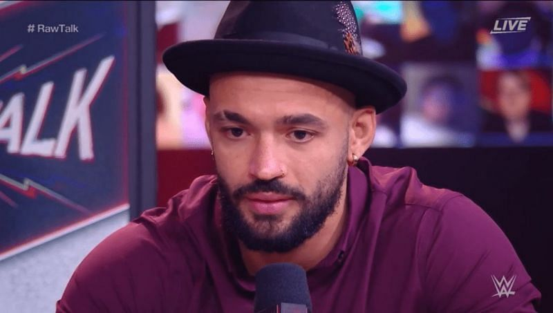 Ricochet on RAW Talk after his loss to T-Bar