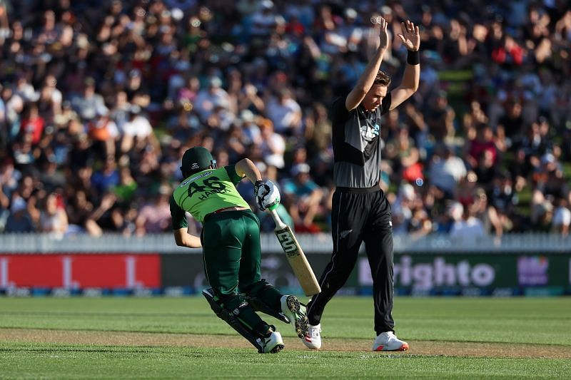 Tim Southee took four key wickets for New Zealand