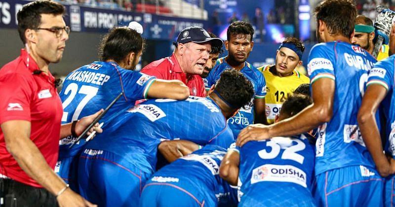 Graham Reid is the head coach of the Indian men