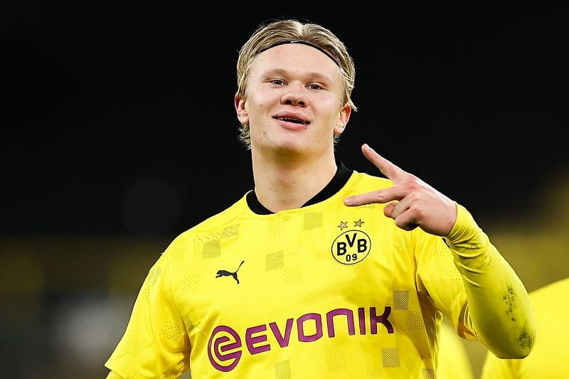 Erling Haaland has been in sensational form for Borussia Dortmund