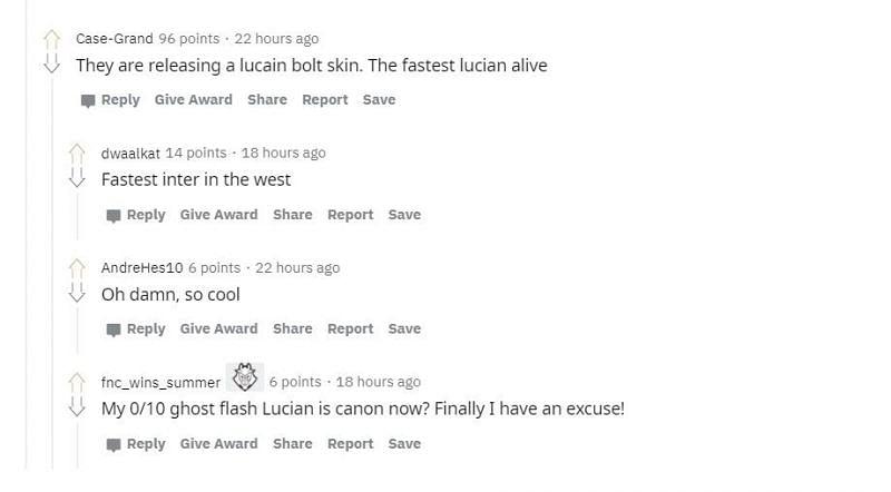 Screengrab from Reddit