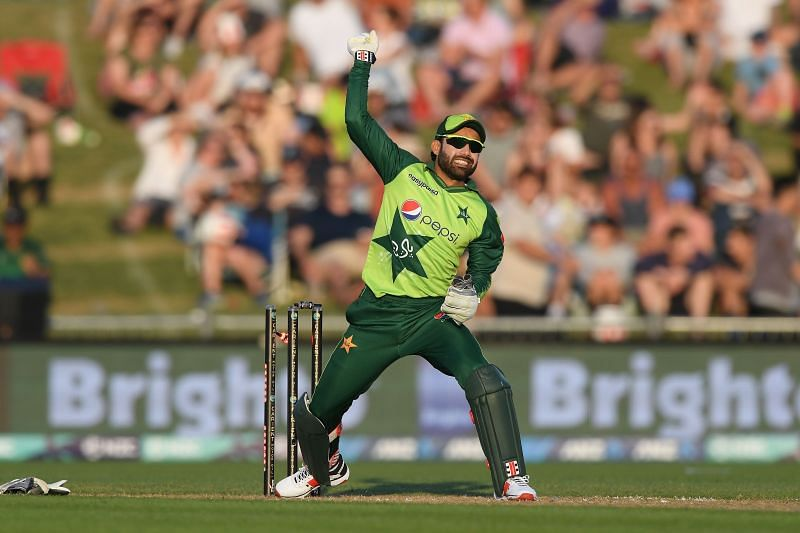 Mohammad Rizwan will captain Pakistan in the first Test