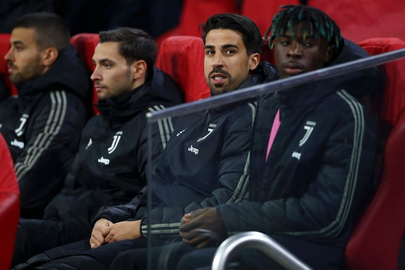 Sami Khedira (second from right)