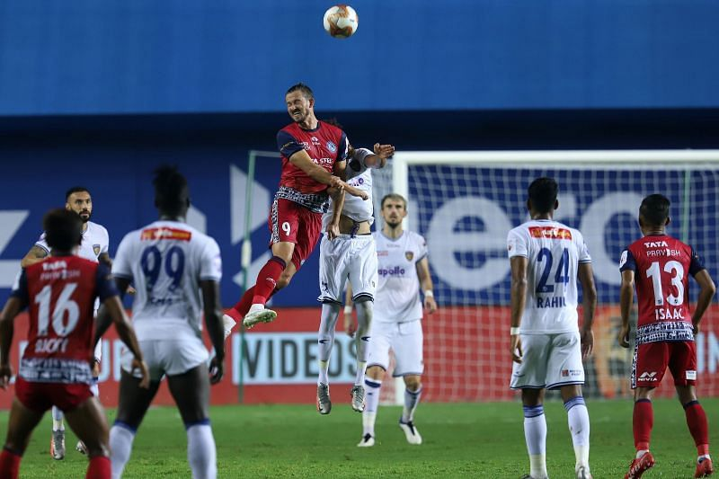 Valskis will be instrumental for Jamshedpur FC (Courtesy-ISL)