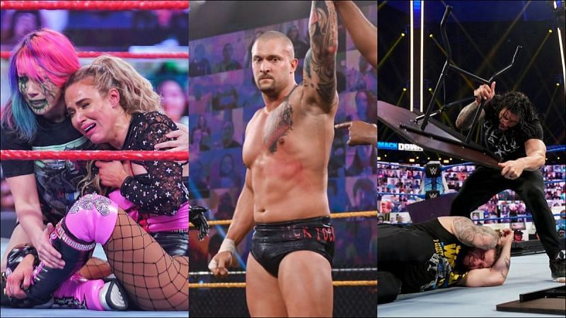 The week before TLC was big for WWE