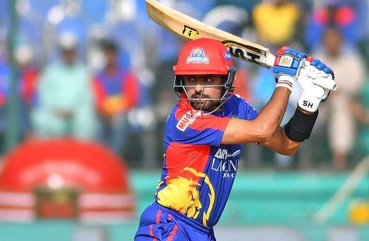 Babar Azam scored an unbeaten 90 to help the Karachi Kings beat Multan Sultans